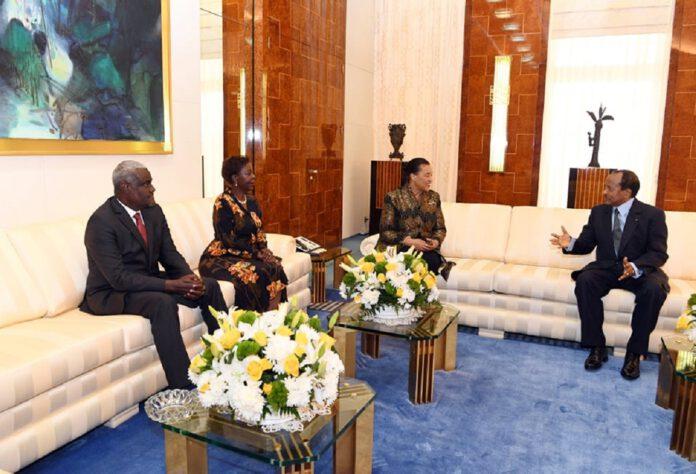 Des réunions de haut niveau se tiennent ce mercredi 27 novembre 2019 entre les dirigeants de l'Organisation internationale de la Francophonie, du Commonwealth, de l'Union africaine et les autorités camerounaises.