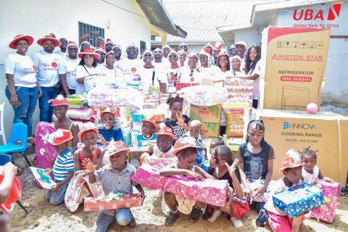 Deux centres d'accueil des villes de Douala et Yaoundé ont reçu des dons de la fondation de la banque panafricaine la semaine dernière.
