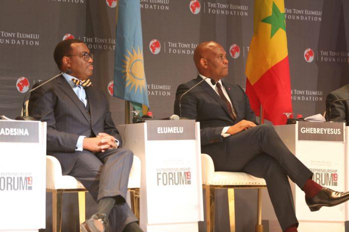Ce montant représente la première tranche de l'engagement de partenariat de 5 millions de dollars de la Banque africaine de développement.