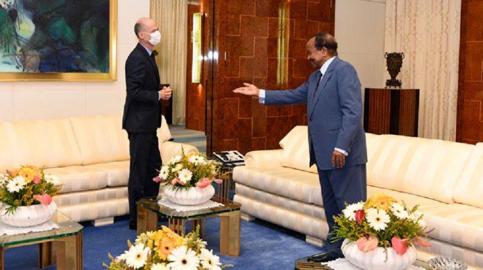 Le chef de l'Etat camerounais a eu un entretien avec l'ambassadeur de France ce jeudi 16 avril 2020. Au menu des échanges: la gestion de la pandémie du covid-19 au Cameroun, en France et dans le monde.