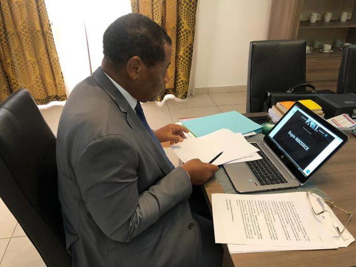 In extenso, l'allocution du Président de la Commission de la CEMAC, Pr Daniel Ona Ondo, lors de la réunion des Ministres de la Santé des pays membres de la CEEAC du mercredi 24 juin 2020. C'était en visioconférence.