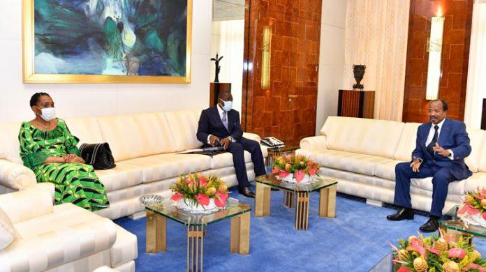 L'envoyé spécial congolais était porteur d'un pli du Président Denis Sassou Nguesso adressé à son homologue camerounais.