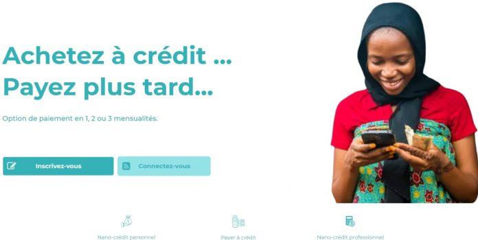La start-up camerounaise donne la possibilité à ses utilisateurs d'effectuer des achats à crédit jusqu'à 100000 FCFA.