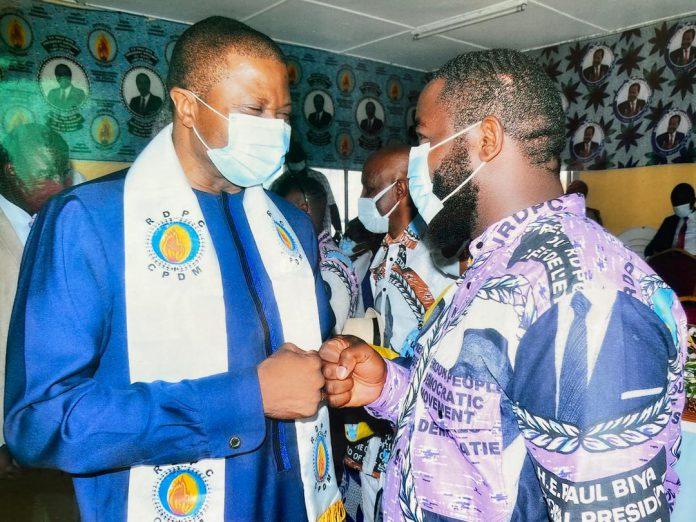 Le militant du parti au pouvoir au Cameroun, devient la nouvelle boussole politique des jeunes de la localité.